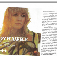 Venus Zine 5 star Review Ladyhawke